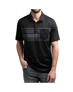 Travismathew Casual Dining Polo Black