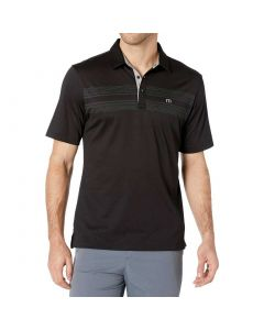 Travismathew Crow Polo Black