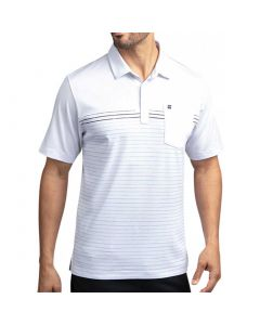 Travismathew Deep End Polo White Front