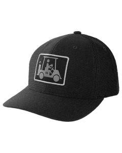 TravisMathew El Capitan Snapback Hat Black