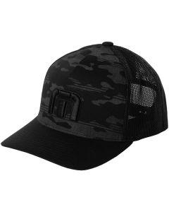 Travismathew Expedition Snapback Hat Black