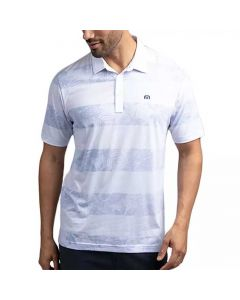 Travismathew Frosty Glass Polo White Front