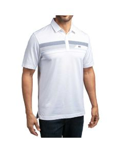 Travismathew Gone Fishin Polo White