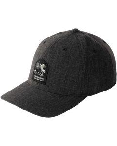Travismathew Lenox Snapback Hat Black