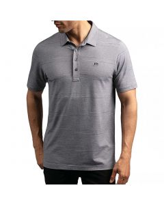 Travismathew More Betterness Polo Heather Grey Front