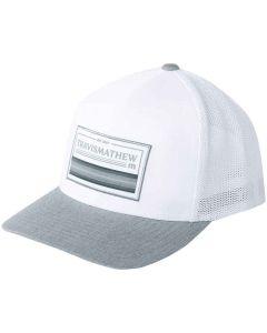 Travismathew Password Party Snapback Hat White