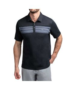 Travismathew Rosette Polo Black