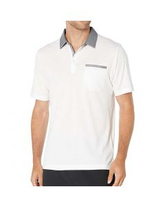 Travismathew Secret Spot Polo White Front