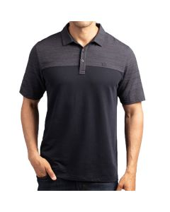 Travismathew Zip It Polo Black