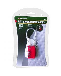 JEF World of Golf TSA Combination Lock