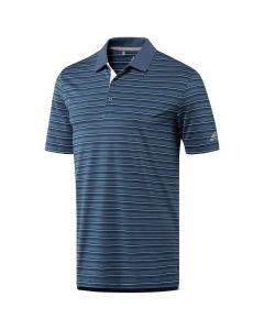 Adidas Ultimate365 3-Color Merch Stripe Polo Tech Ink