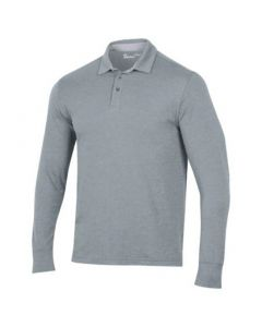 Under Armour Charged Longsleeve Polo Steel