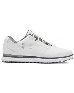 Under Armour Showdown SL Golf Shoes White/Metallic Silver