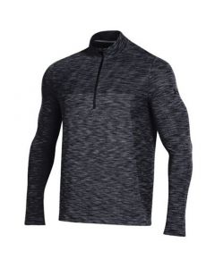 Under Armour Vanish Seamless Quarter Zip Black
