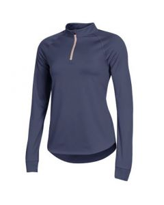 Under Armour Womens Rally Quarter Zip Blue Ink
