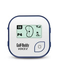 GolfBuddy Voice 2 GPS White/Blue