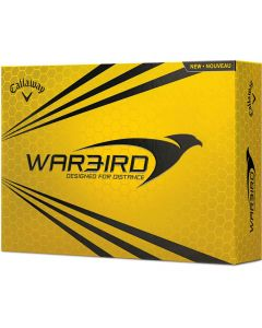 Callaway Warbrid Yellow Personalized Golf Balls