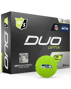 Wilson Staff Duo Optix NFL Golf Balls