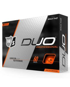 Wilson Staff DUO Professional Orange Golf Balls