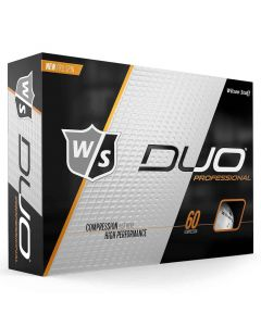 Wilson Staff DUO Professional Personalized Golf Balls White