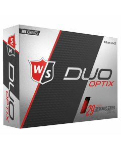 Wilson Staff DUO Soft Optix Red Golf Balls