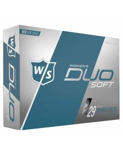Wilson Staff Women's DUO Soft Golf Balls