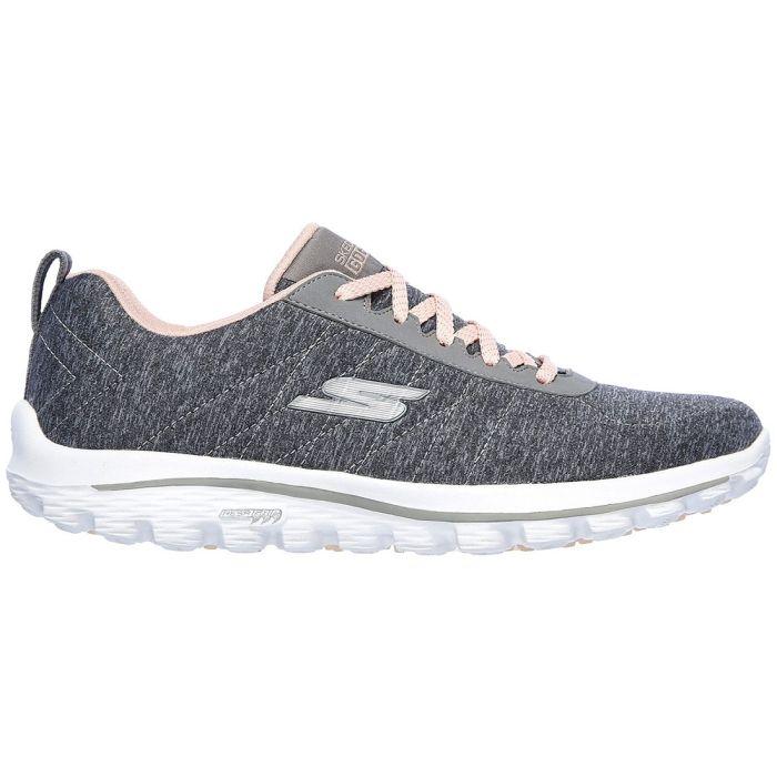 Skechers Women's GO GOLF Walk Sport Golf Shoes Grey/Pink