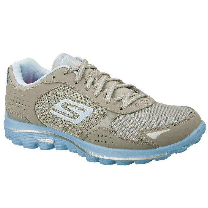 Skechers Women's GOwalk 2 Lynx Golf Shoes Grey/Blue