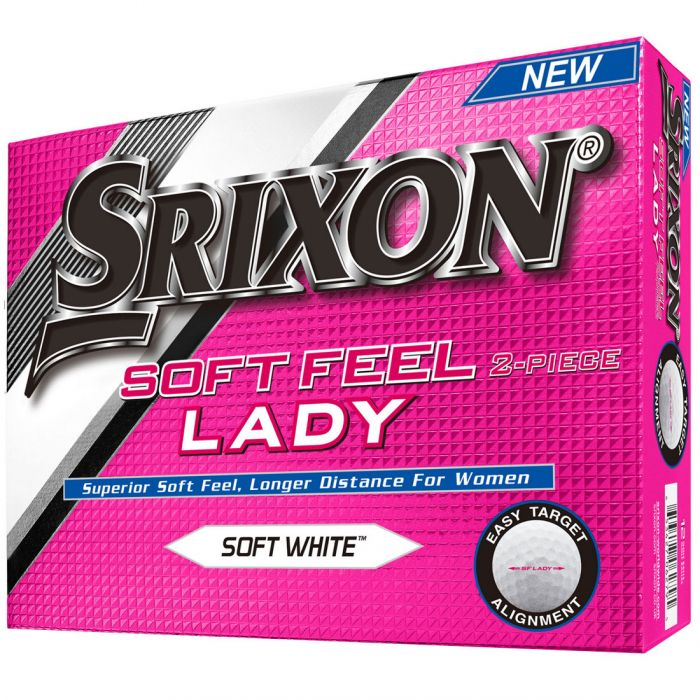 Srixon Lady Soft Feel Personalized Golf Balls