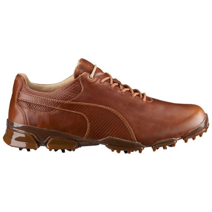 Puma TitanTour Ignite Premium Golf Shoes Monk's Robe