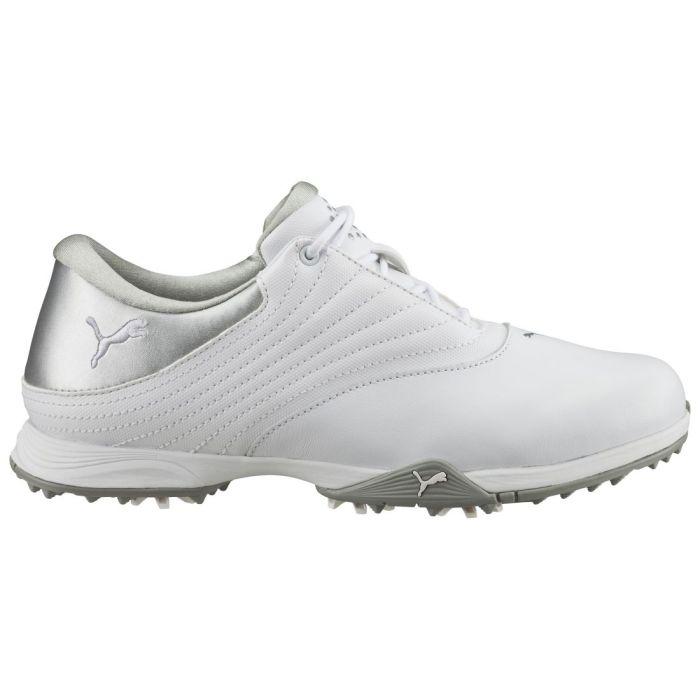 Puma Women's Blaze Golf Shoes White/Silver