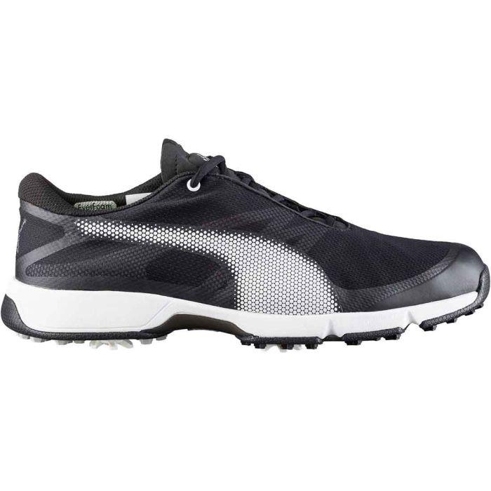 Puma Ignite Drive Sport Golf Shoes Black/White/Grey Violet