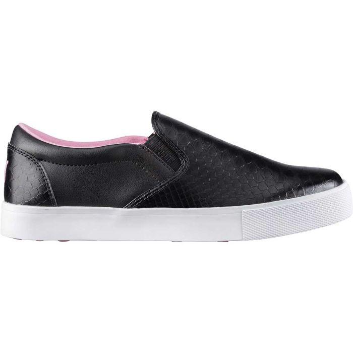 Puma Women's Tustin Slip-On Golf Shoes Black/Prism Pink