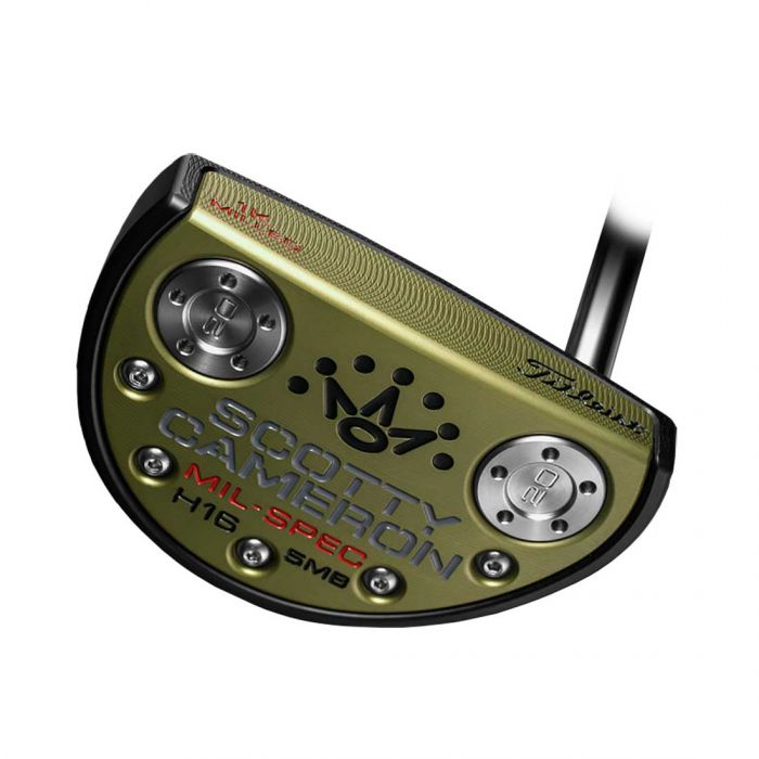 Scotty Cameron by Titleist 2016 Limited Edition MIL-SPEC H16 5MB Putter