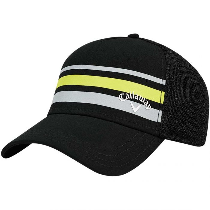 Callaway Stripe Mesh Fitted Hat