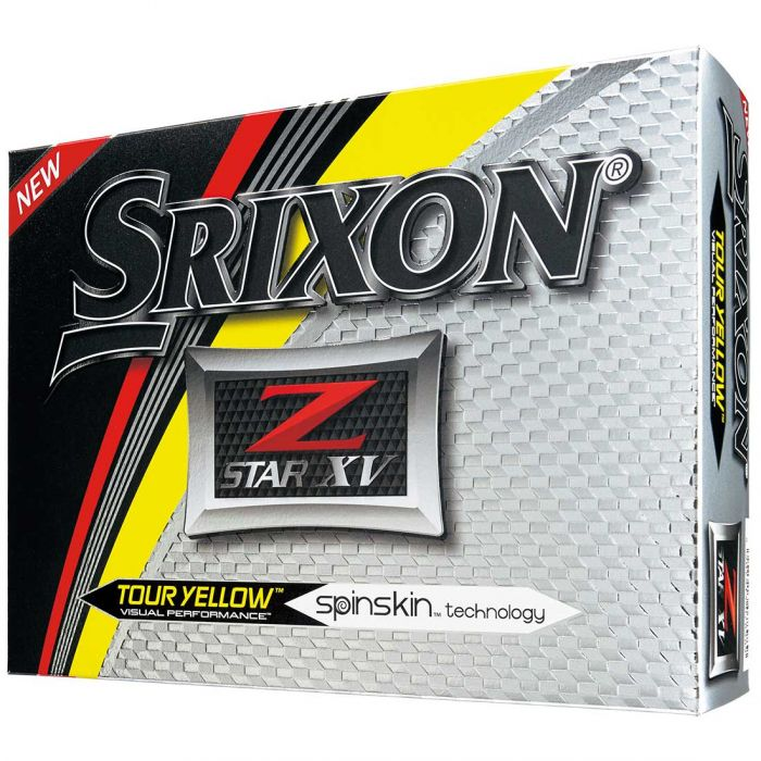 Srixon Z-Star XV 5 Yellow Golf Balls
