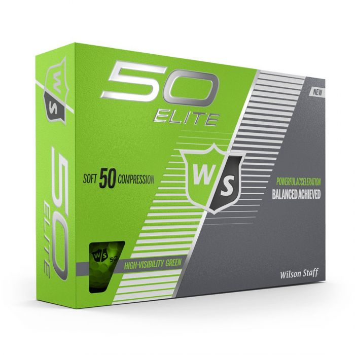 Wilson Fifty Elite Green Golf Balls