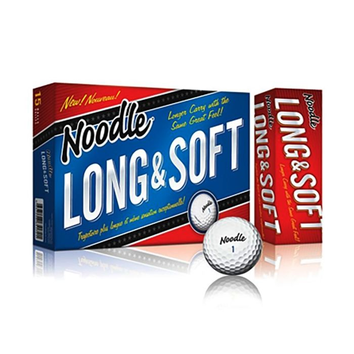 TaylorMade Prior Generation Noodle Long and Soft 15-Pack Golf Balls