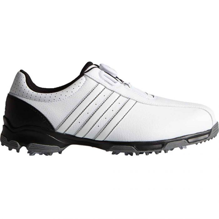 Adidas 360 Traxion Boa Golf Shoes White/Black