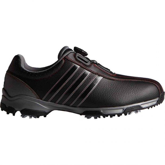 Adidas 360 Traxion Boa Golf Shoes Black/Red