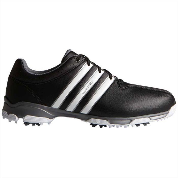 Adidas 360 Traxion Golf Shoes Black/White
