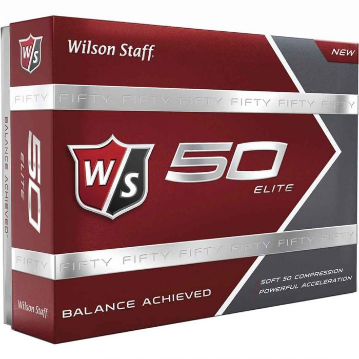 Wilson Staff Prior Generation Fifty Elite Golf Balls