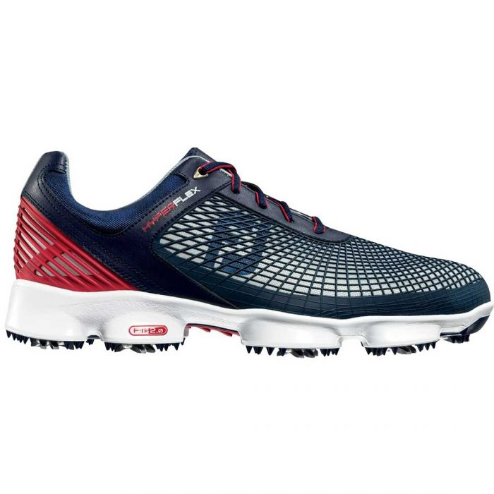 FootJoy HyperFlex Golf Shoes Navy/Red