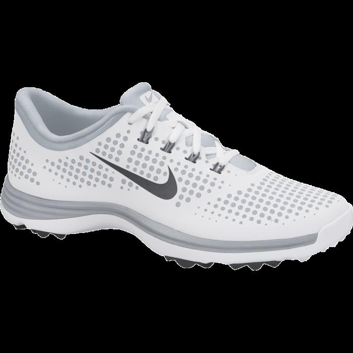 Nike Women's Lunar Empress Golf Shoes White/Grey