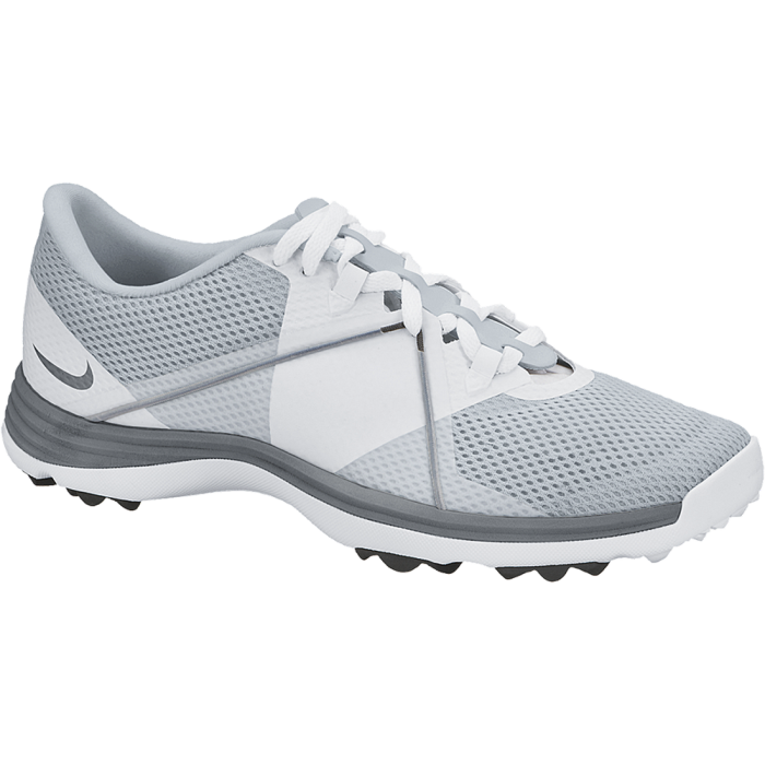 Nike Women's Lunar Summer Lite 2 Golf Shoes White/Grey