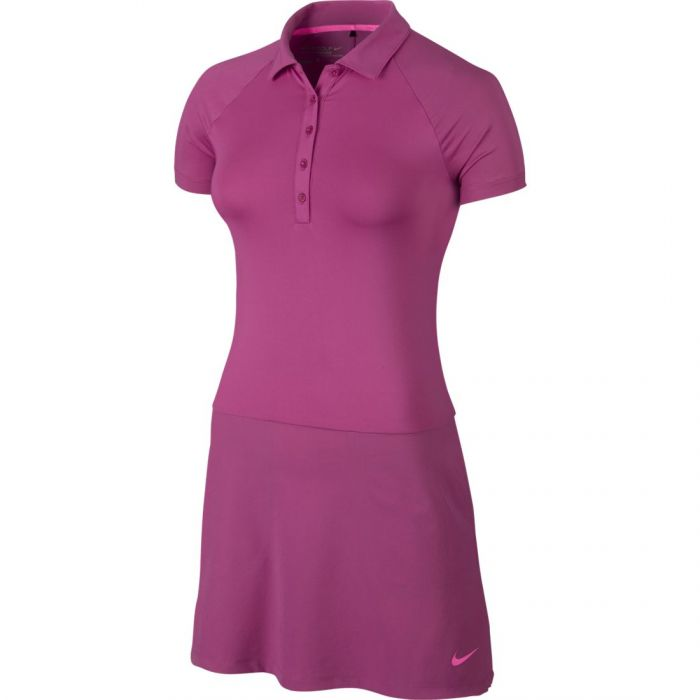 Nike Women's Short Sleeve Polo Golf Dress