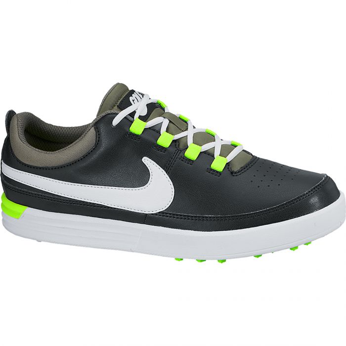 Nike VT Junior Golf Shoes Black/Volt
