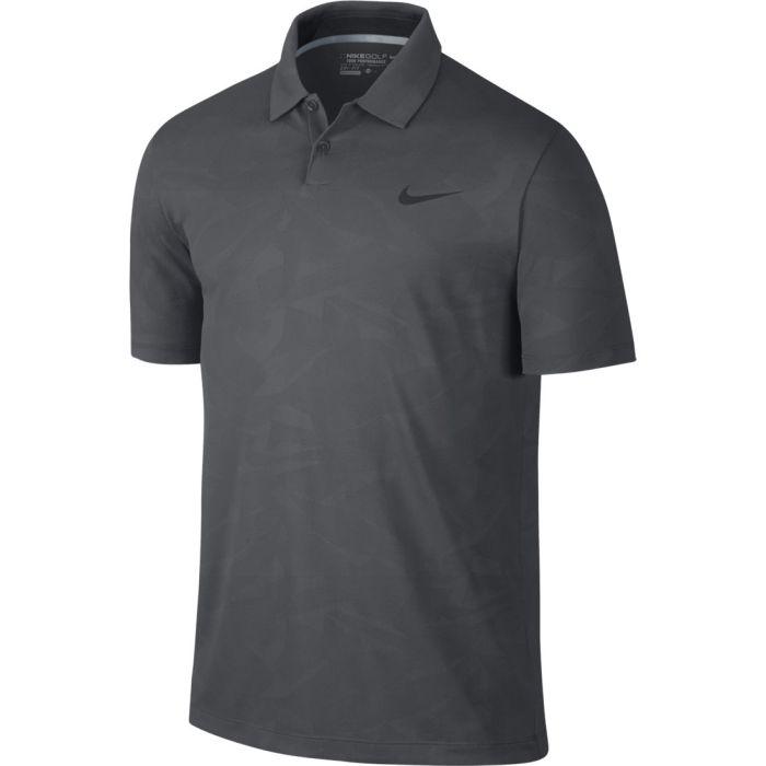 Nike Mobility Camo Jacquard Golf Polo