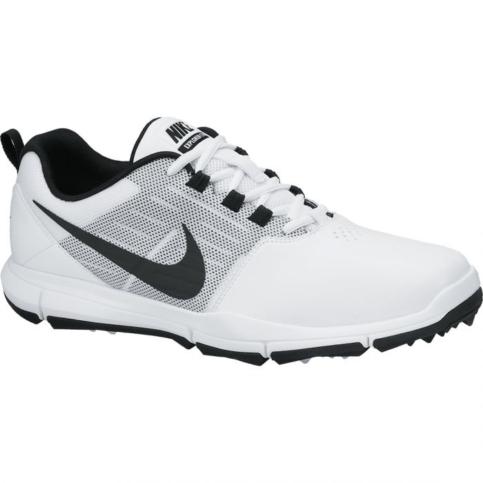 Nike Explorer SL Golf Shoes White/Grey