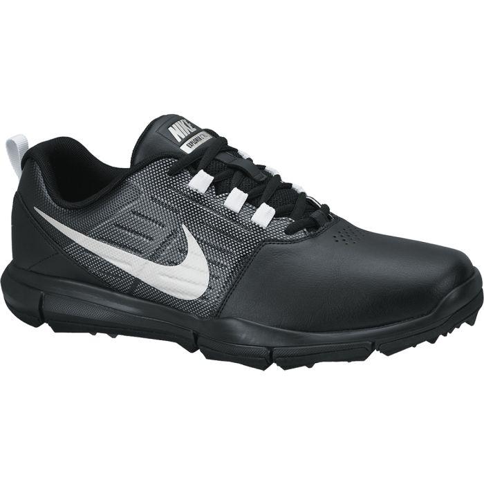 Nike Explorer SL Golf Shoes Black/Silver
